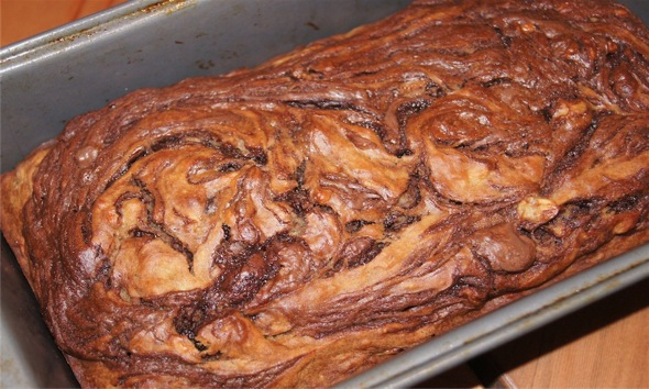 Weight Watchers Nutella Banana Bread