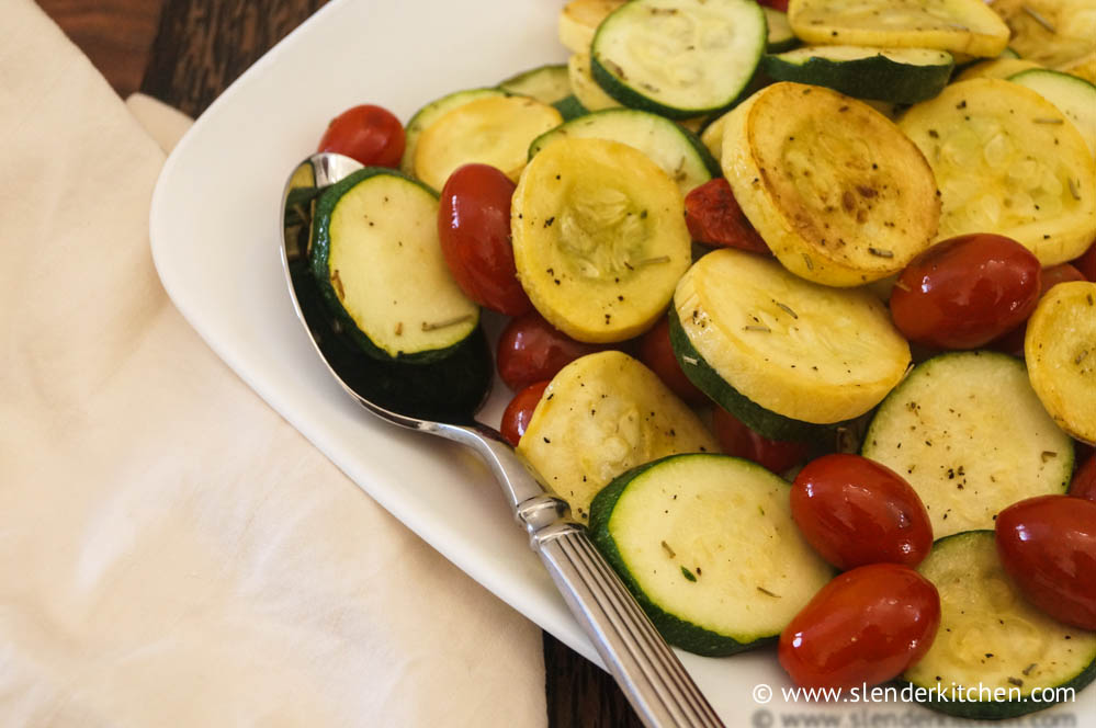 Summer Squash and Rosemary