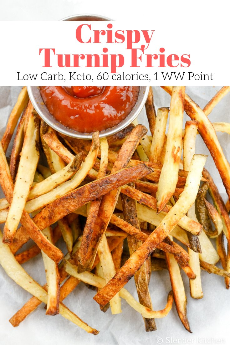 Crispy Turnip Fries