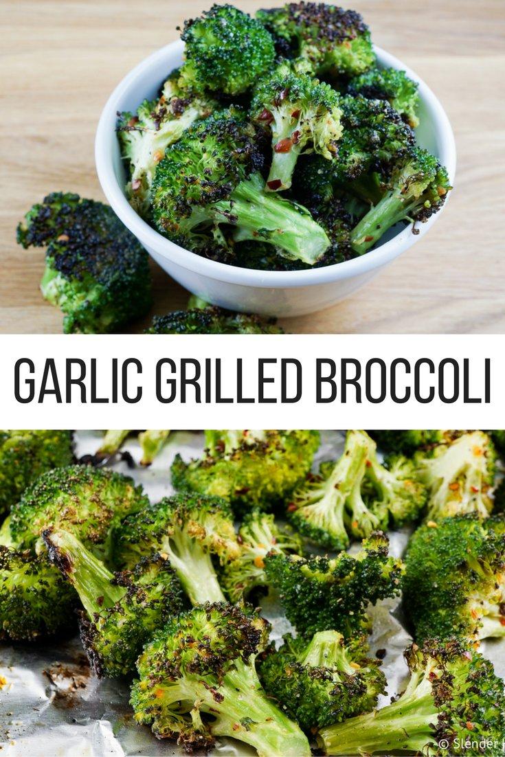 Garlic Grilled Broccoli