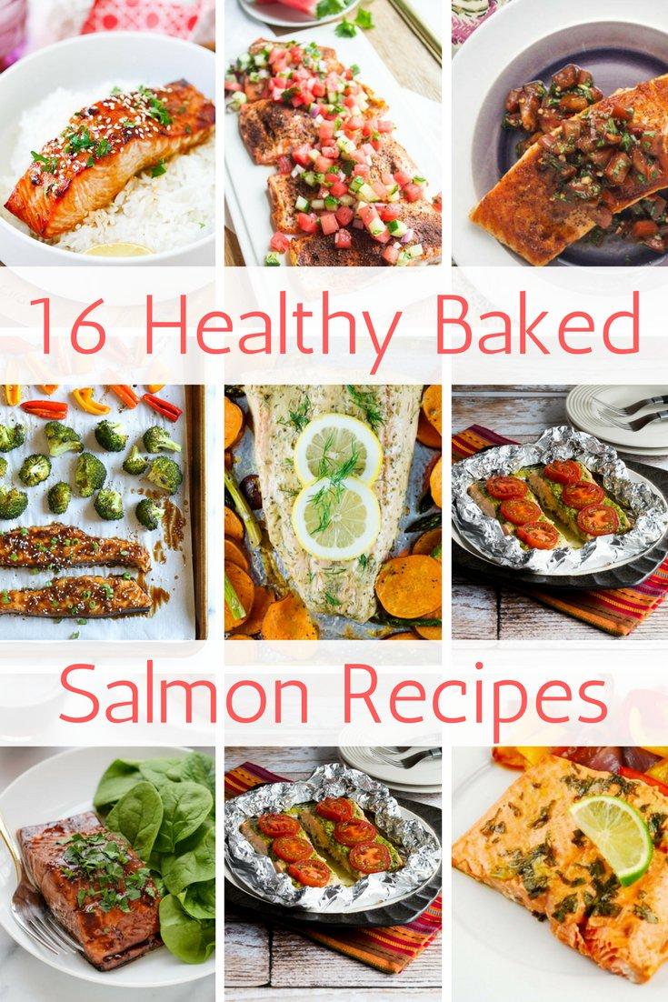 16 Healthy Baked Salmon Recipes - Slender Kitchen