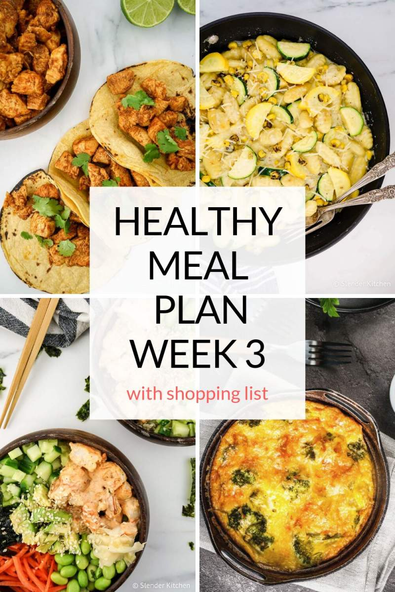 Delicious and healthy meal plans with shopping lists, nutritional info, and more!