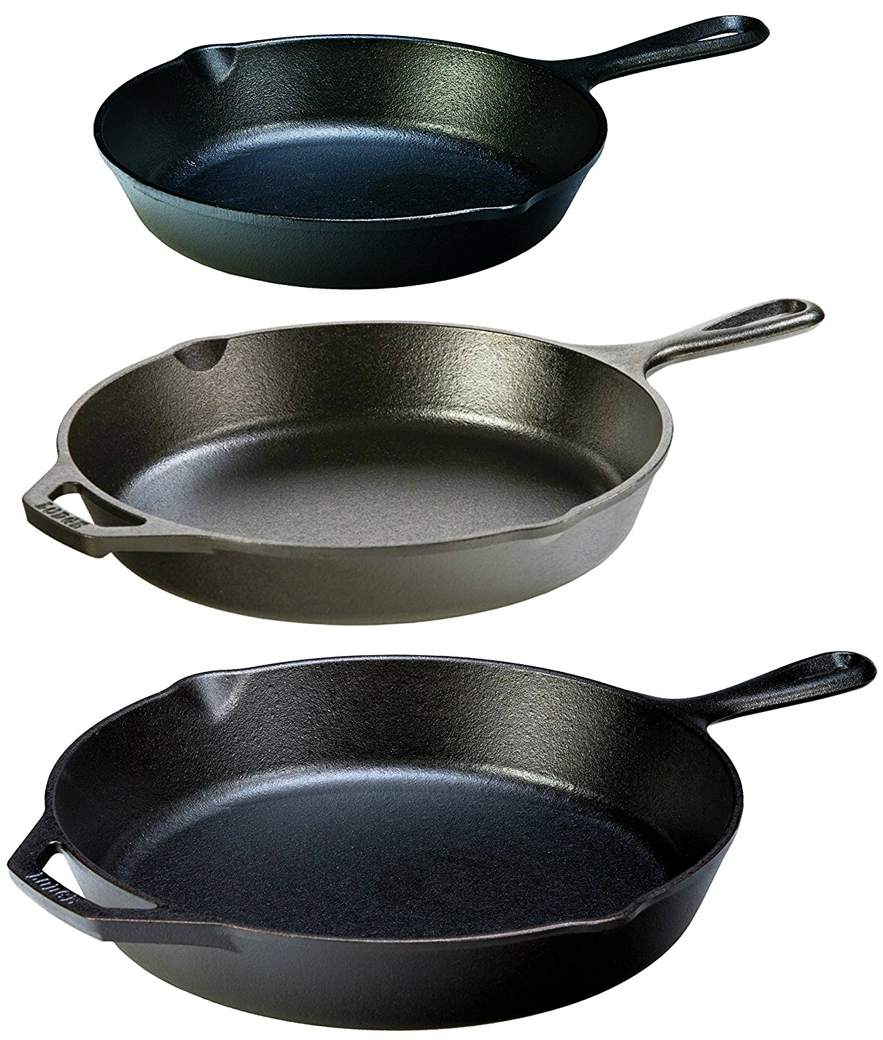 Cast iron pans