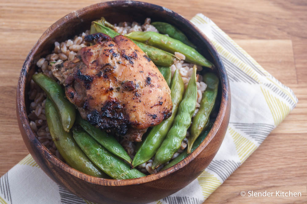 Soy and Mango Vinegar Marinated Chicken Thighs with Sugar ...