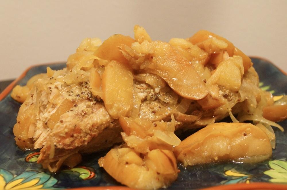 Pork and apples crock pot recipes