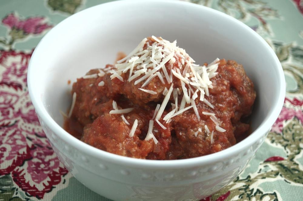 Sunday Slow Cooker: Italian Meatballs - Slender Kitchen