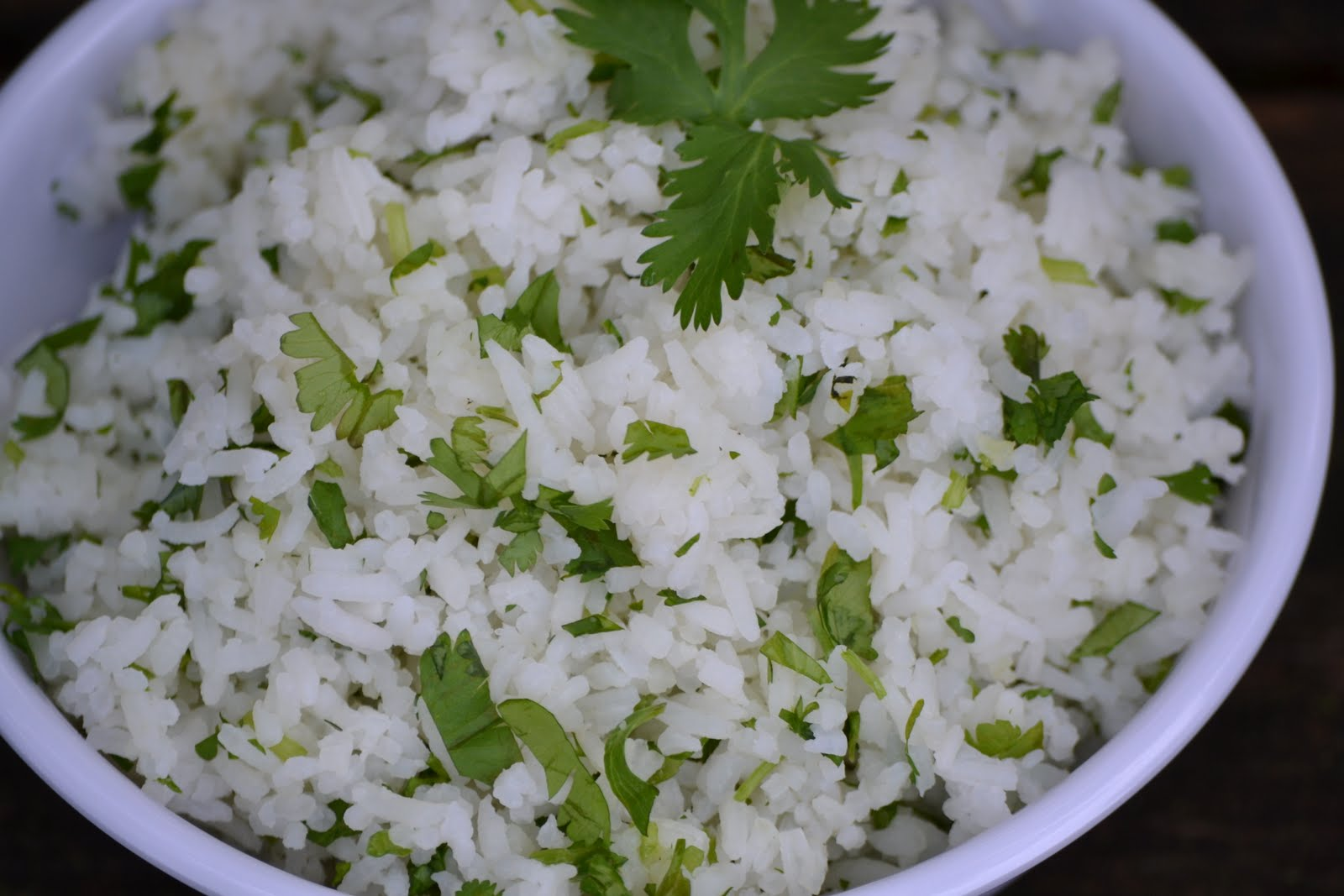 Cilantro Lime Rice (Chiptole) - Slender Kitchen