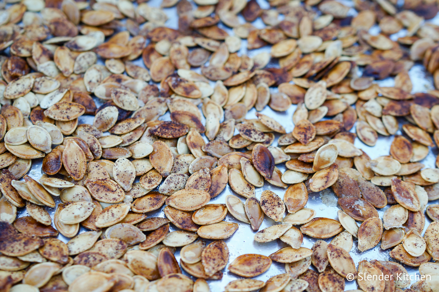 sugar roasted pumpkin seeds