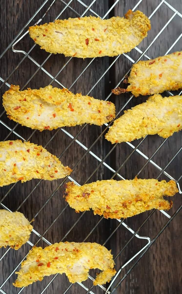Baked Coconut Chicken Fingers