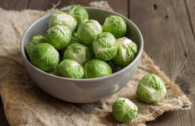 Crispy Balsamic Brussel Sprouts