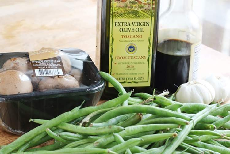 Enjoyable Roasted Balsamic Green Beans And Mushrooms Caraccident5 Cool Chair Designs And Ideas Caraccident5Info