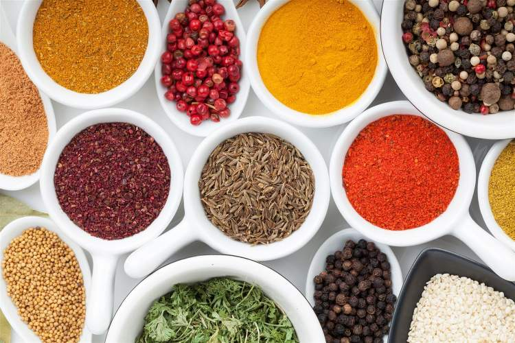 Weight Watchers Zero Points Food List includes spices and condiments.