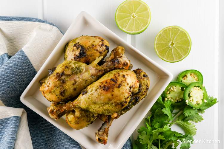 Cilantro Lime Chicken Drumsticks for dinner and lunches in this week
