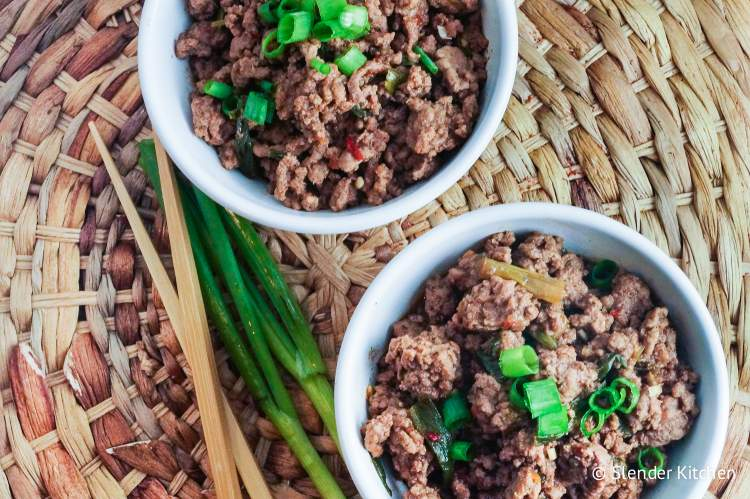 Healthy Mongolian Ground Beef is part of this week