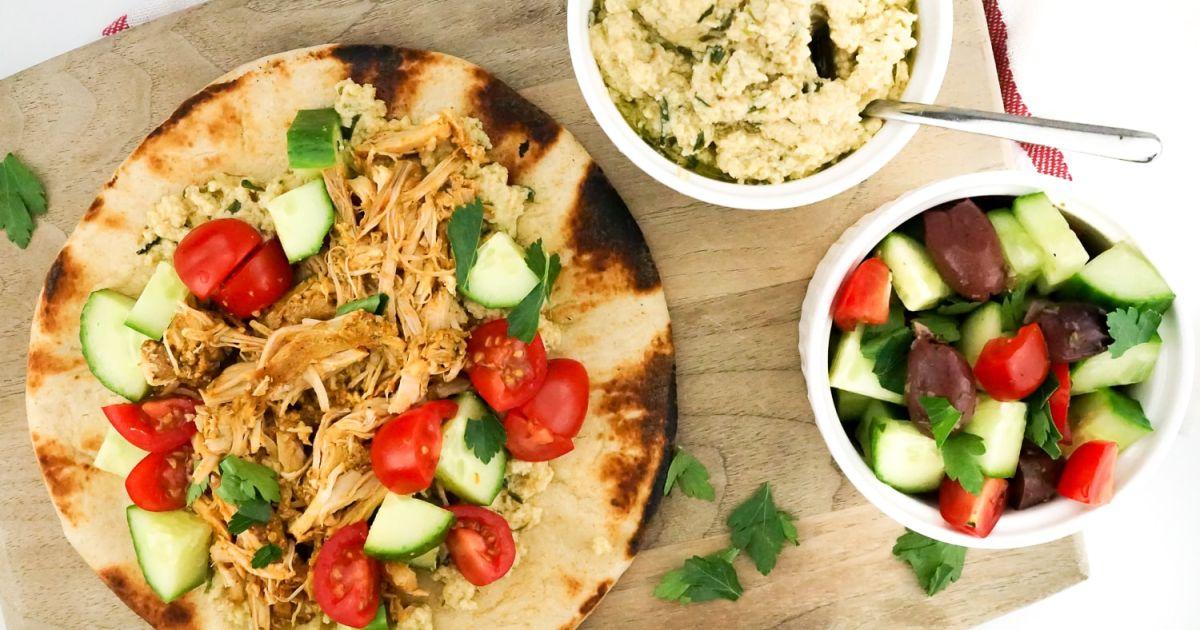 chicken shawarma slow cooker instant pot or grill slender kitchen. Black Bedroom Furniture Sets. Home Design Ideas