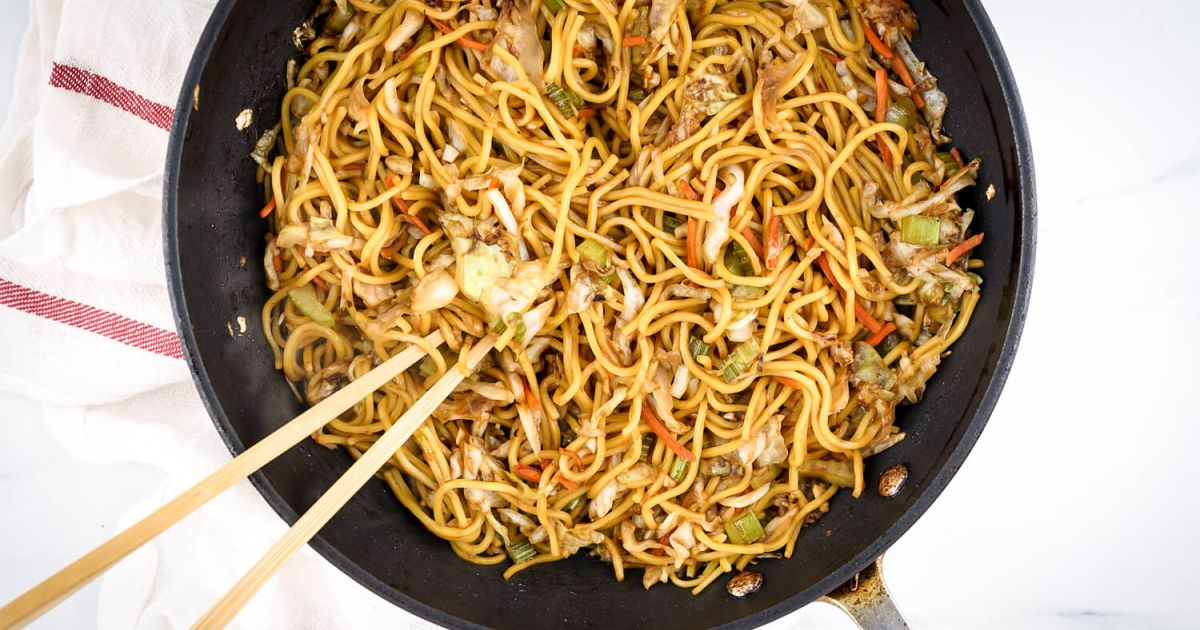 Healthy Chow Mein Panda Express Copycat Slender Kitchen