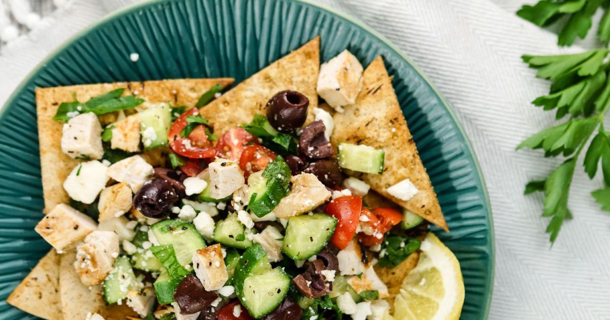 Greek Nachos Recipe The Kitchen