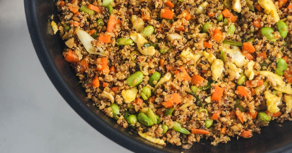 Quinoa Fried Rice - Slender Kitchen