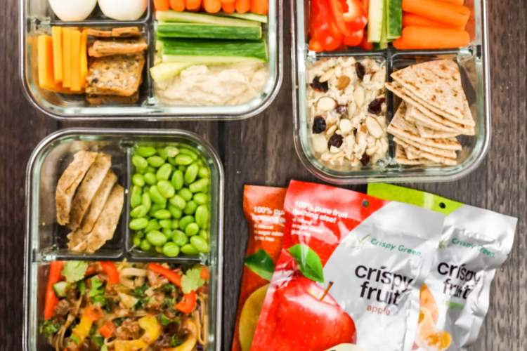 Now you can easily make your own bistro boxes! Healthy, nutritious and prepped for lunch or any quick meal or snack.