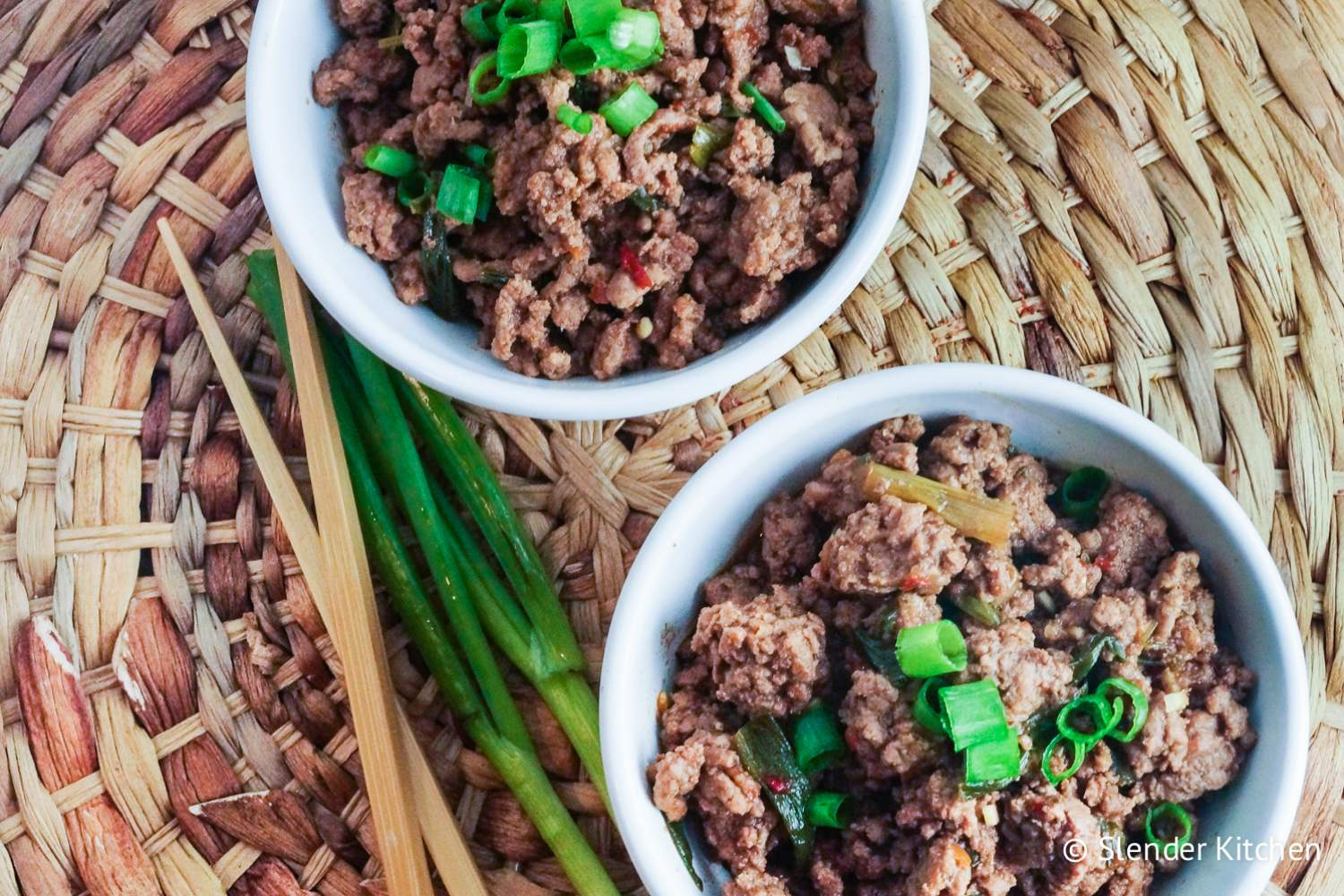 Healthy Mongolian Ground Beef is dinner on Wednesday in this week's healthy meal plan.