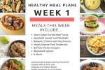 Healthy Meal Plans Week 1: Start the New Year Right!