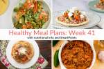 Healthy Meal Plans Week 41
