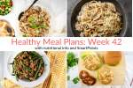 Healthy Meal Plans: Week 42