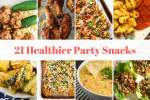 Twenty One Healthy Party Snacks