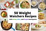 Weight Watchers recipes with Smartpoints.