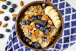 Cinnamon Quinoa Bowl with Berries