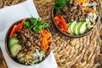 Vegetarian Bulgogi Bowls with Vegetables