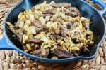 Low Carb Korean Beef and Cabbage