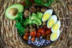 Whole30 Breakfast Salad with Sausage