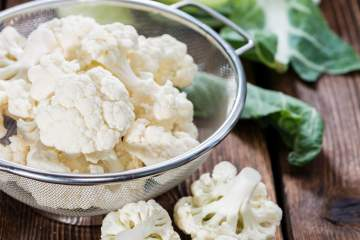 Learn all about cauliflower nutrition, health benefits, plus a complete guide to picking, preparing, and cooking cauliflower. Delicious recipes and more!