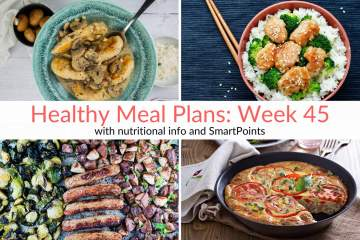 Healthy Meal Planning Made Easy:  Understanding Your Needs & Week 45 Meal Plans