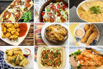 A collection of 25 delicious and healthy Superbowl recipes all with nutritional info and Weight watchers SmartPoints.