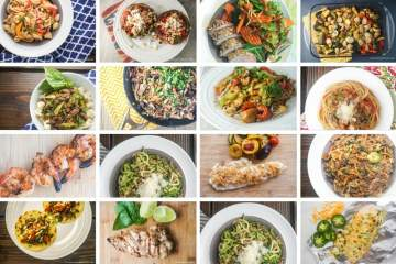 Twenty Quick and Easy Dinners Under 400 Calories