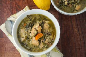Slow Cooker Sunday: Chicken Quinoa Soup with Kale