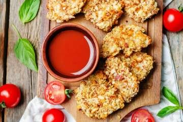 Almond Crusted Pork Tenders