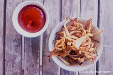 Celeriac Fries (Low Carb)
