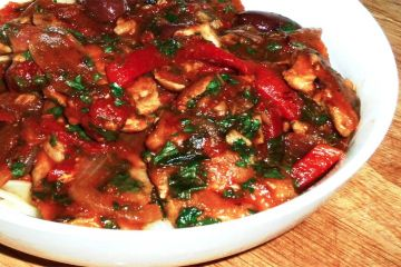 Sunday Slow Cooker: Chicken Cacciatore