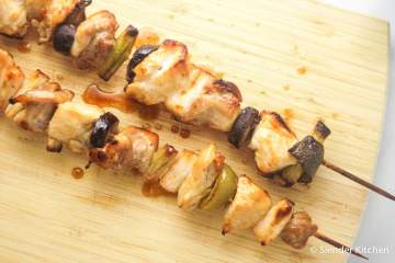 Low Carb Chicken Yakitori