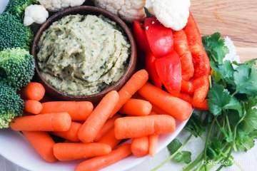 Cilantro White Bean Hummus