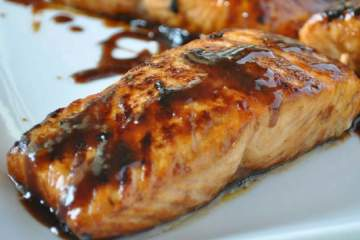 Five Ingredient Glazed Salmon