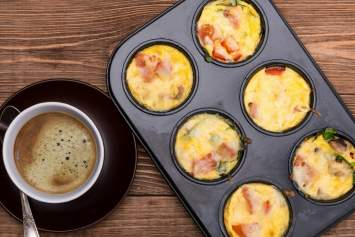 Ham and Cheese Egg Muffins make an easy, portable, and healthy breakfast that's packed with protein, good-for-you, and taste amazing.