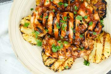 Grilled Pineapple Barbecue Chicken