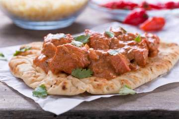 This healthy slow cooker butter chicken recipe is an excellent make at home meal that will be sure to remind you of your favorite takeout without all the fat and calories!