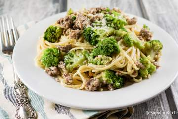 Turkey Sausage and Broccoli Pasta