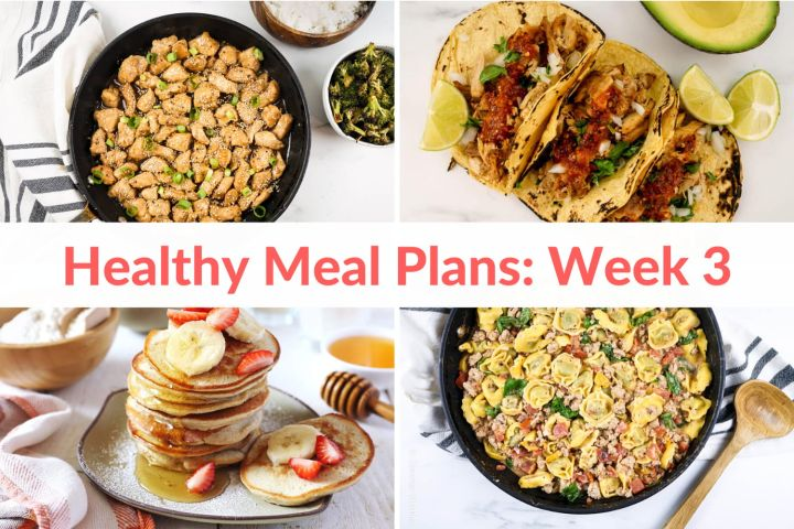 Healthy Meal Plans: Week 3 (and 25% OFF)