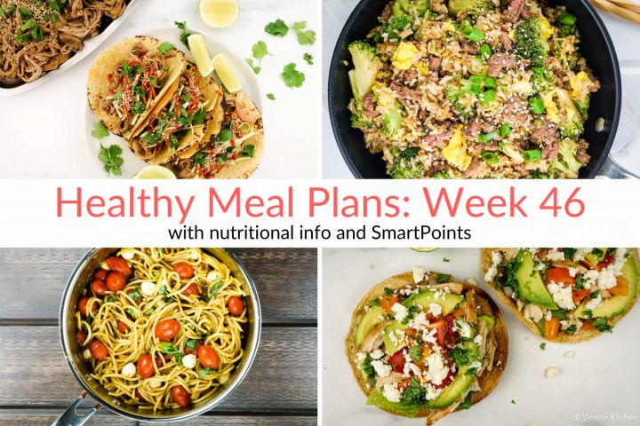 Healthy Meal Planning Made Easy: Prepping Snacks & Week 46 Meal Plans